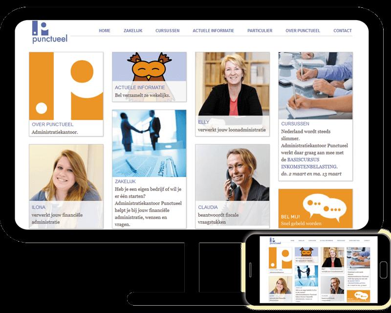 Punctueel website